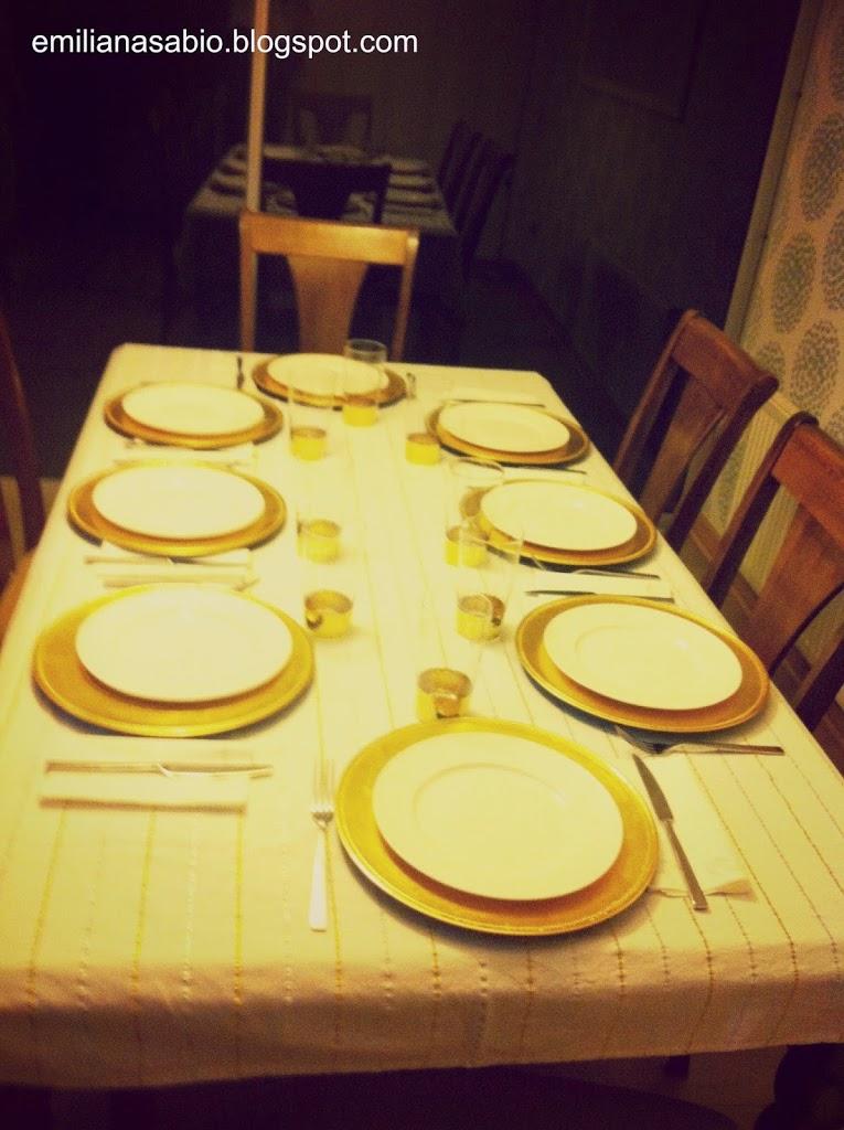 Jogo de festa de jantar para adultos