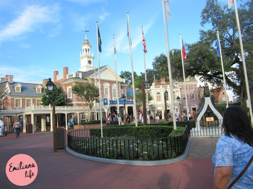 45 hall presidentes disney