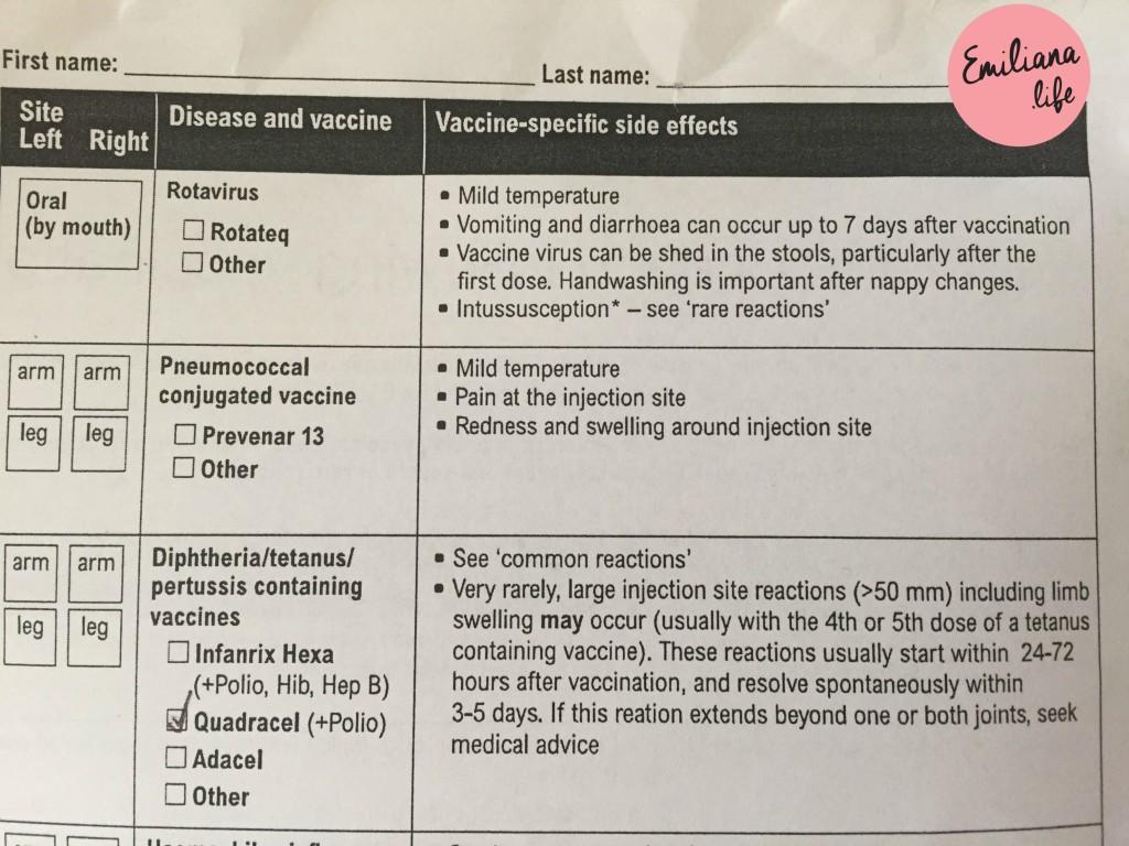 100 quadro vacina australia