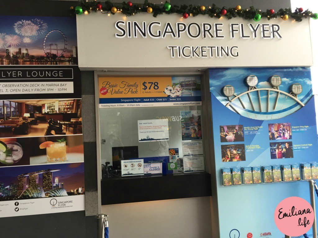 622 singapore flyer ticketing