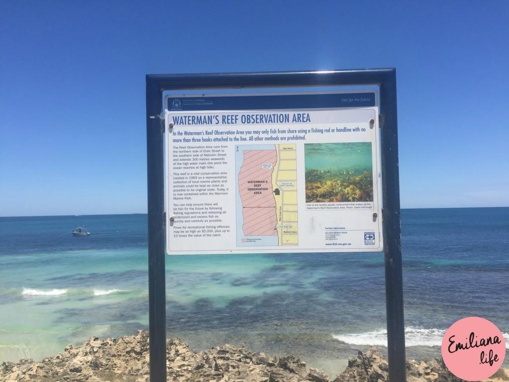 822 watermans reef observation area