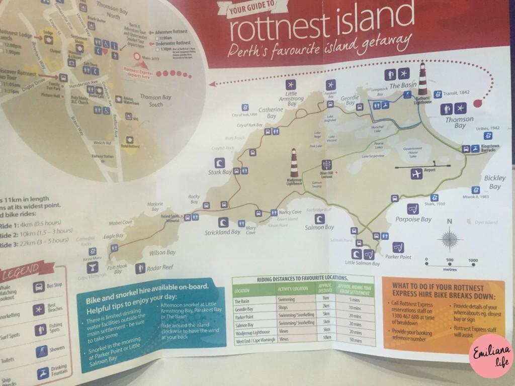 227 mapa rottnest island