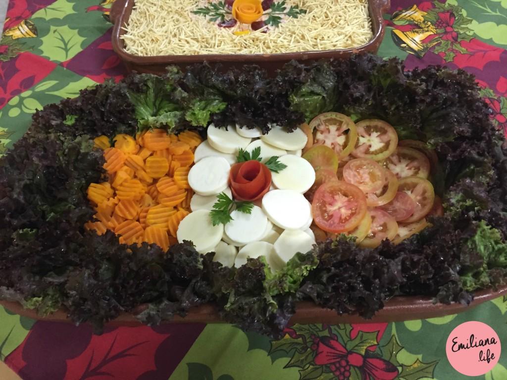 100 salada alface ceia natal