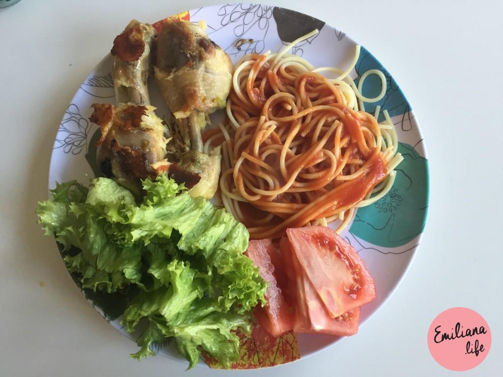 13 frango pasta salada