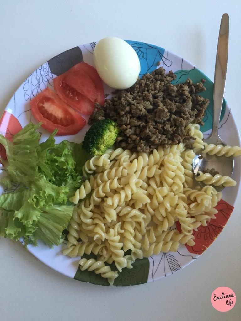 14 pasta alho e oleo carne moida