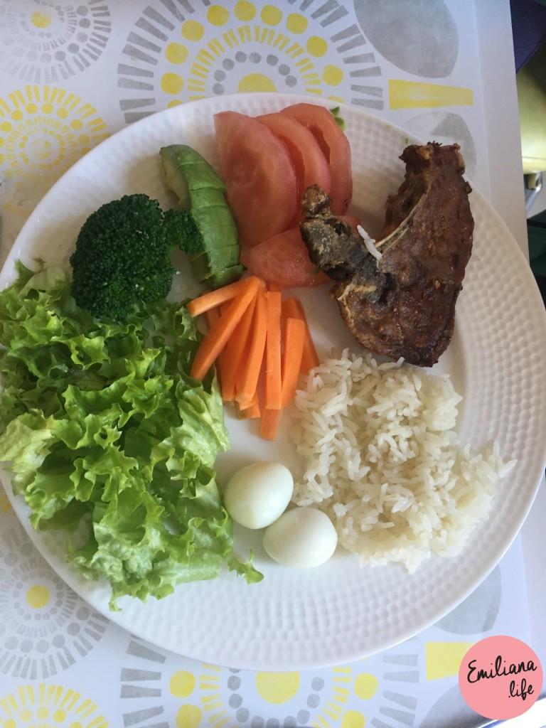 17 arroz chuleta porco
